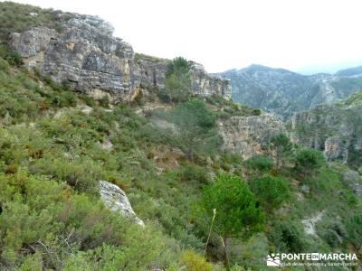 Axarquía- Sierras de Tejeda, Almijara y Alhama; viajes en invierno, Málaga enero
